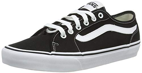 Vans Herren Filmore Decon Sneaker, Schwarz ((Canvas) Black/White 187), 41 EU
