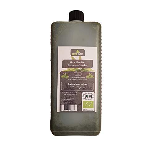 Green Rabbit Brennesseljauche ohne Geruch - 1l Jauche = 10l Pflanzendünger - kinesiologisch geprüft