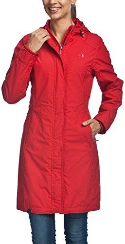 Tatonka Damen Mantel Tabara Coat, Red Carpet, 46