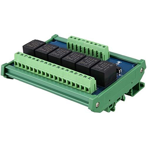 ZRYYD 5V-Relais-Modul SPS-Signalverstärkerplatine Heißes 6-Kanal-Relay-Modul High-Pegel-Auslöse der Optokoppler-Isolation