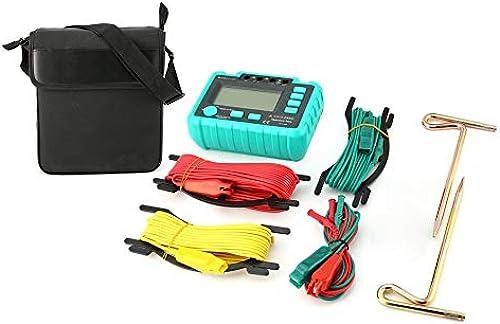 WEIWEITOE-FR WINHY 4105A Mètre de résistance à l'isolation de Masse numérique Haute sensibilité testant Le voltmètre mégohmmètre 20 200   2000Ohm, Vert,