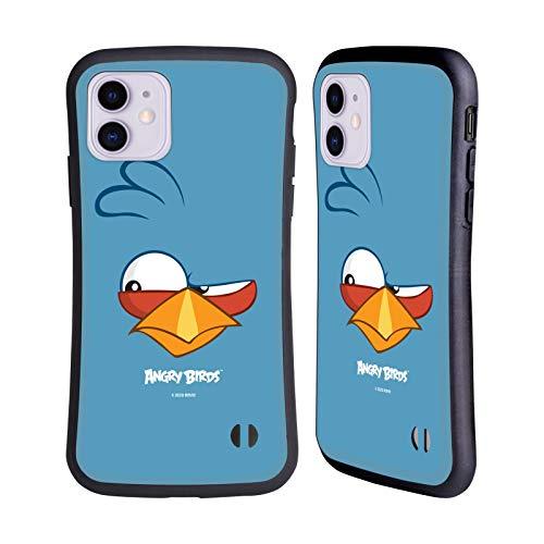 Head Hülle Designs Offiziell Offizielle Angry Birds Blues Volles Gesicht Hybride Handyhülle Hülle Huelle kompatibel mit Apple iPhone 11