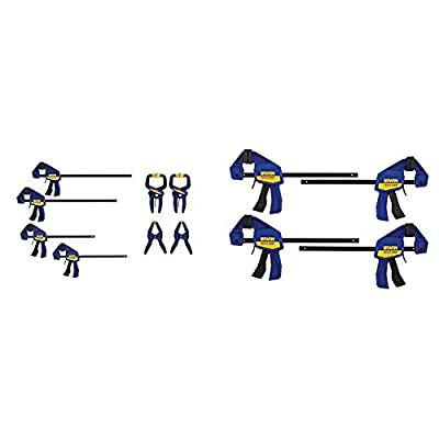 IRWIN QUICK-GRIP Clamps Set from IRWIN