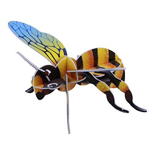 ELECTRÓNICA REY Puzzle 3D Colección Insectos, Modelo Abeja