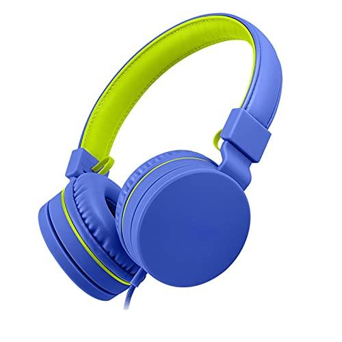 SKK Auriculares Gamer Auriculares Infantiles Bluetooth inalámbrico con Cable Plegable para niños...