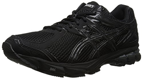 ASICS Men's Gt-1000 3 Running Shoe,Black/Onyx/Lightning,7 4E US
