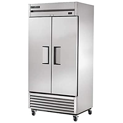 """True T-35F-HC 40"""" Two Section Reach-In Freezer, (2) Solid Doors, 115v"""