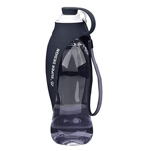Super Design Portable Pet Travel Expandable Reversible Silicone Dog Water Bottle Dispenser