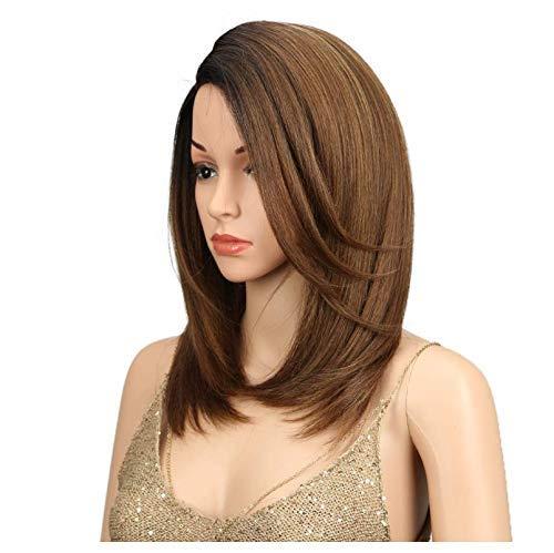 Fournitures de femmes Mesdames Cheveux courts Talon haut perruque, fibres synthétiques résistant à la chaleur à haute température, un cadeau élégant for Petite amie, facile à nettoyer Convient pour le