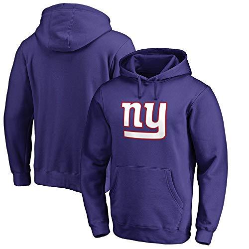 LYY Sport Pullover, Männer Casual Langarm-NFL New York Giants Hoodie, Kann Für Wandern/Physical Exercise/Schulungen Genutzt Werden,L(170~175cm)