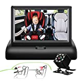 Best Baby Monitor With Cameras - Baby Car camera ,SAMFIWI Baby Car Mirror Safety Review