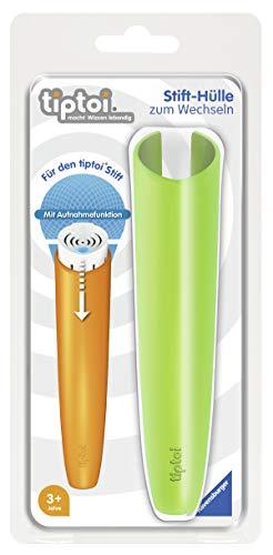 Ravensburger tiptoi 00004 - Stifthülle zum Wechseln in Grün / Wechselhülle für den tiptoi® Stift mit Aufnahmefunktion / Geeignet für Kinder ab 3 Jahren