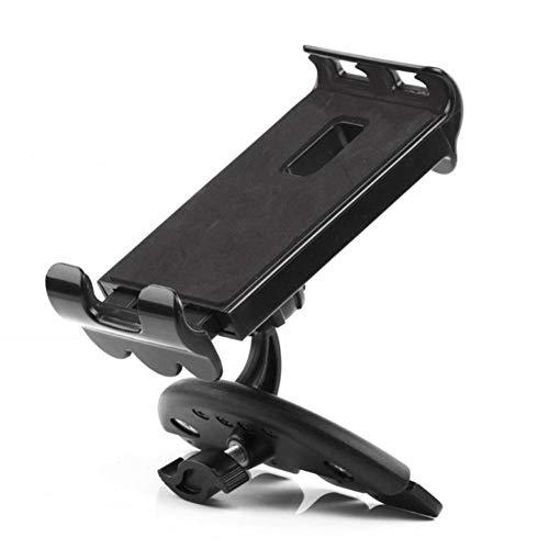 USNASLM Soporte universal para tableta de coche con ranura para CD, para iPad de 3,5 a 11 pulgadas, iPad, iPhone, tableta y teléfono móvil