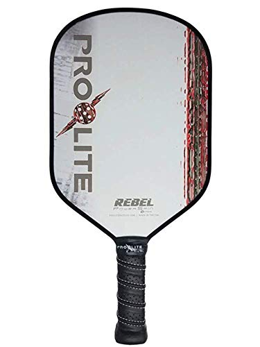 Prolite Rebel PowerSpin Pickleball Paddle (Red)