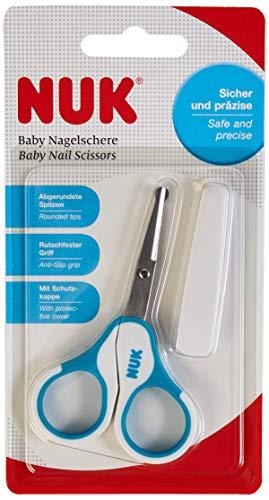NUK Baby Nagelschere, sicher und präzise, blau, 1 Stück