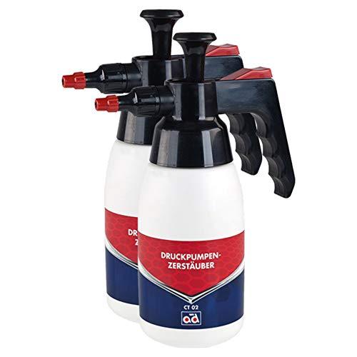 AD Chemie 2X Druckpimpzerstäuber 750ml Kunststoff Bremsenreiniger F.ct01 Druckluft Felgenreiniger Drucksprüher Pumpflasche Pumpsprühflasche Sprühflasche Auto Säurebeständig Spray Ct02750ml