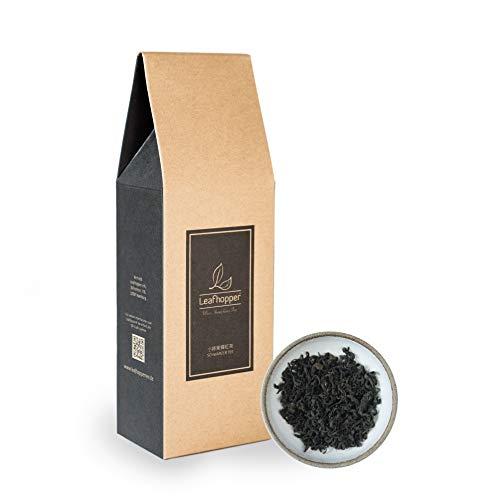 """Leafhopper® Lose Blätter Schwarzer Tee mit natürlichem honigartigem Aroma. Ein besondere """"bug-bitten"""" Tee direkt aus Taiwan. Wohlschmeckend durch klassische Zubereitung oder Cold Brew Methode. (100g)"""