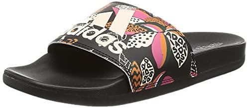 adidas Adilette Comfort, Chanclas Mujer, NEGBÁS/BLAMAR/NEGBÁS, 39 1/3 EU