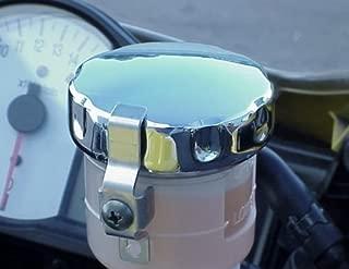 i5 Chrome Front Brake Fluid Cap for Honda CBR600RR CBR1000RR CBR 600RR 1000RR F3 F4i RR Kawasaki Ninja 250 300 500 ZX6R ZX10R Suzuki GSXR600 GSXR750 GSXR1000 GSXR 600 750 1000 Yamaha YZF R6 R1