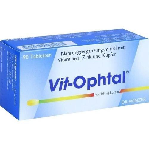 VIT OPHTAL mit 10 mg Lutein Tabl., 90 St