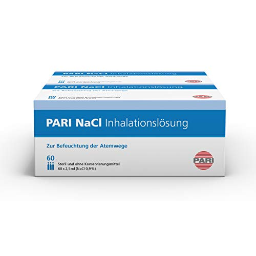PARI NaCl Inhalationslösung 2 x 60, 2er Pack