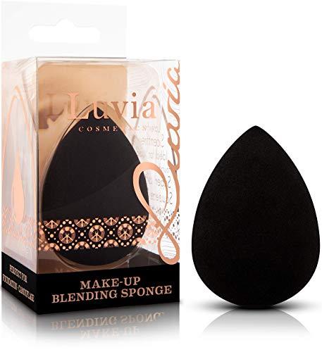 Luvia Beauty Blender Schwamm - Make-Up Ei - Extra Weicher Blending Sponge - In Zeitlosem Schwarz - Kosmetik Schwämmchen
