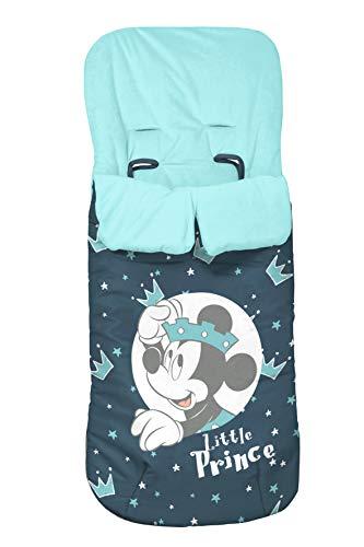 Danielstore- Saco Silla Paseo Polar OFERTA (Varios modelos) (Mickey azul)