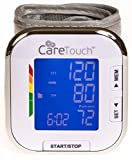 Care Touch Fully Automatic Wrist Blood Pressure Cuff Monitor -...
