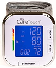 Care Touch Fully Automatic Wrist Blood Pressure Monitor - Platinum Series - 5.5