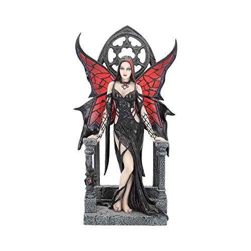 Nemesis Now - Statuetta Aracnafaria, 28 cm, colore: Nero