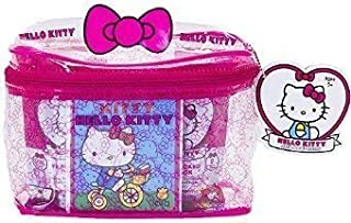 Upper Deck Hello Kitty's 40th Anniversary Carry All Case w/Mini Figures, Trading Cards & more