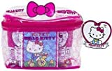 Hello Kitty Upper Deck 40th Anniversary Carry All Case w/Mini Figures, Trading Cards & More