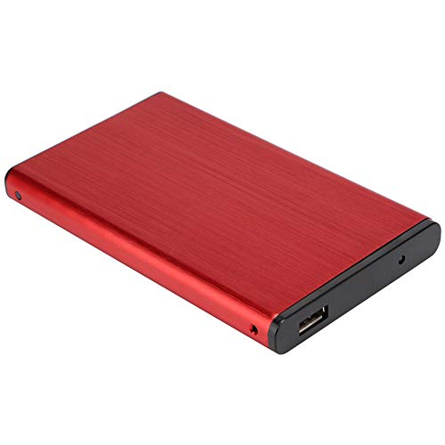 Caja de Disco Duro móvil Compatible SATA SSD, Caja de Disco Duro...