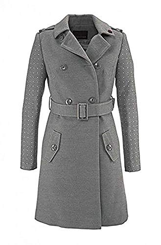 Kurzmantel Mantel Damen von Melrose in Grau Melange - Gr. 32