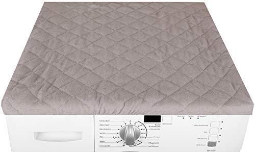 Bestgoodies Trockner und Waschmaschinenbezug 60x60cm in (Grau)