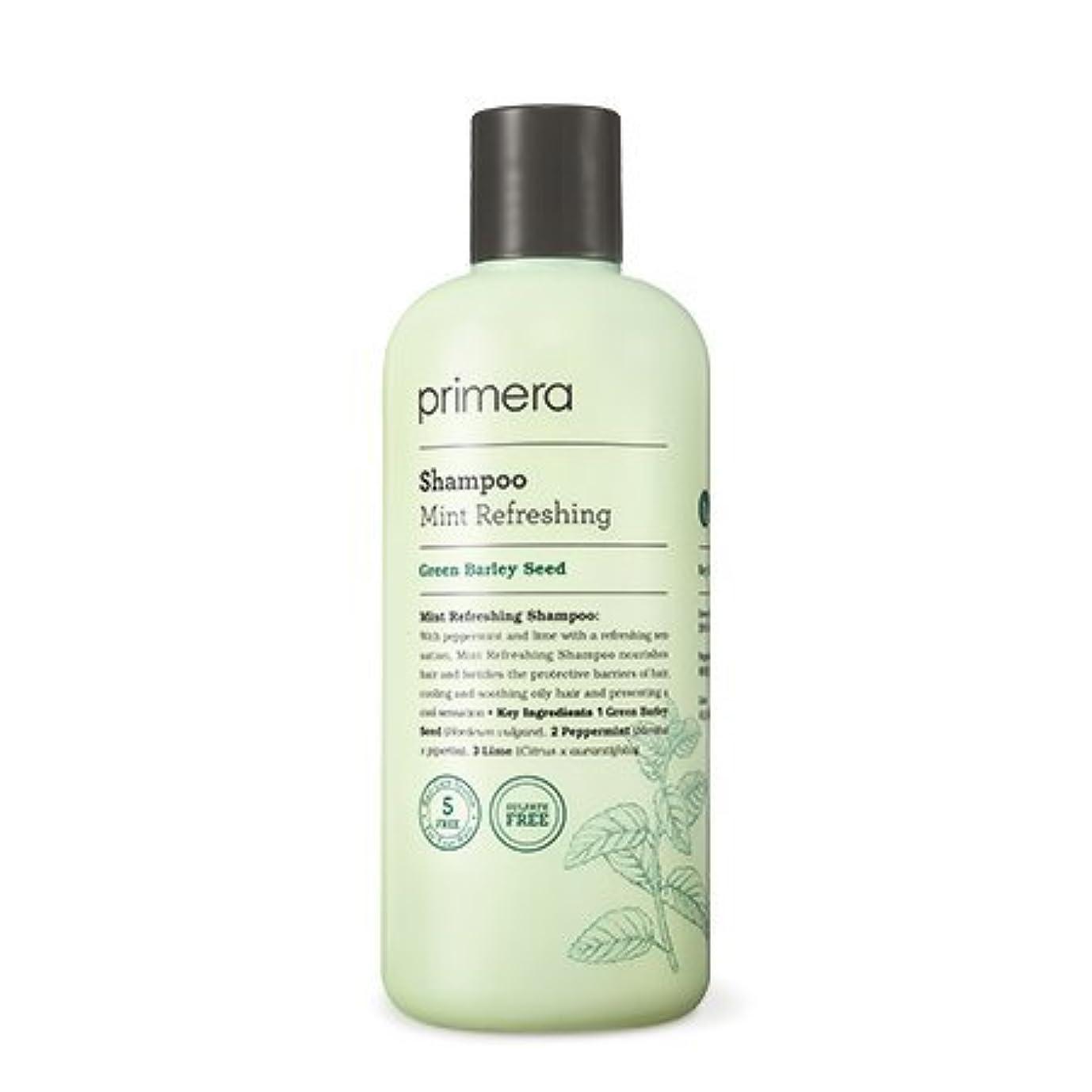 攻撃的送信する操縦する【Primera】Mint Refreshing Shampoo - 300ml (韓国直送品) (SHOPPINGINSTAGRAM)