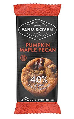 Farm & Oven Pumpkin Maple Pecan Bakery Bites - 12 Pack. Bites of pumpkin bread.