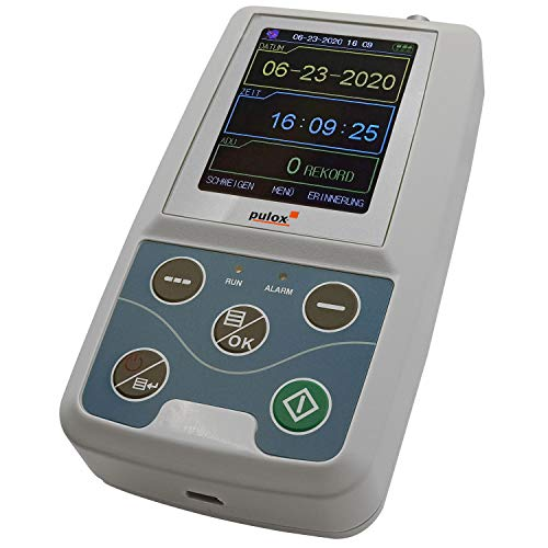 Pulox ABDM-50 Ambulantes Blutdruckmessgerät Langzeit Blutdruck Messung 24 Stunden