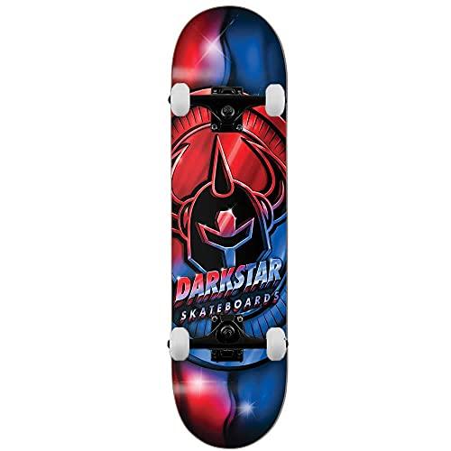 Darkstar Anodize - Skateboard completo, 20,3 cm, colore: Rosso