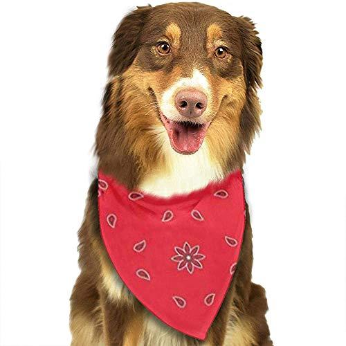 YAGEAD Pañuelo para Perros Cachorro y pañuelos para Mascotas, pañuelo Colorido Pañuelo Rojo Pañuelo Verde Pañuelo para el Cuello clásico Pañuelo Negro Abstracto para Mascotas