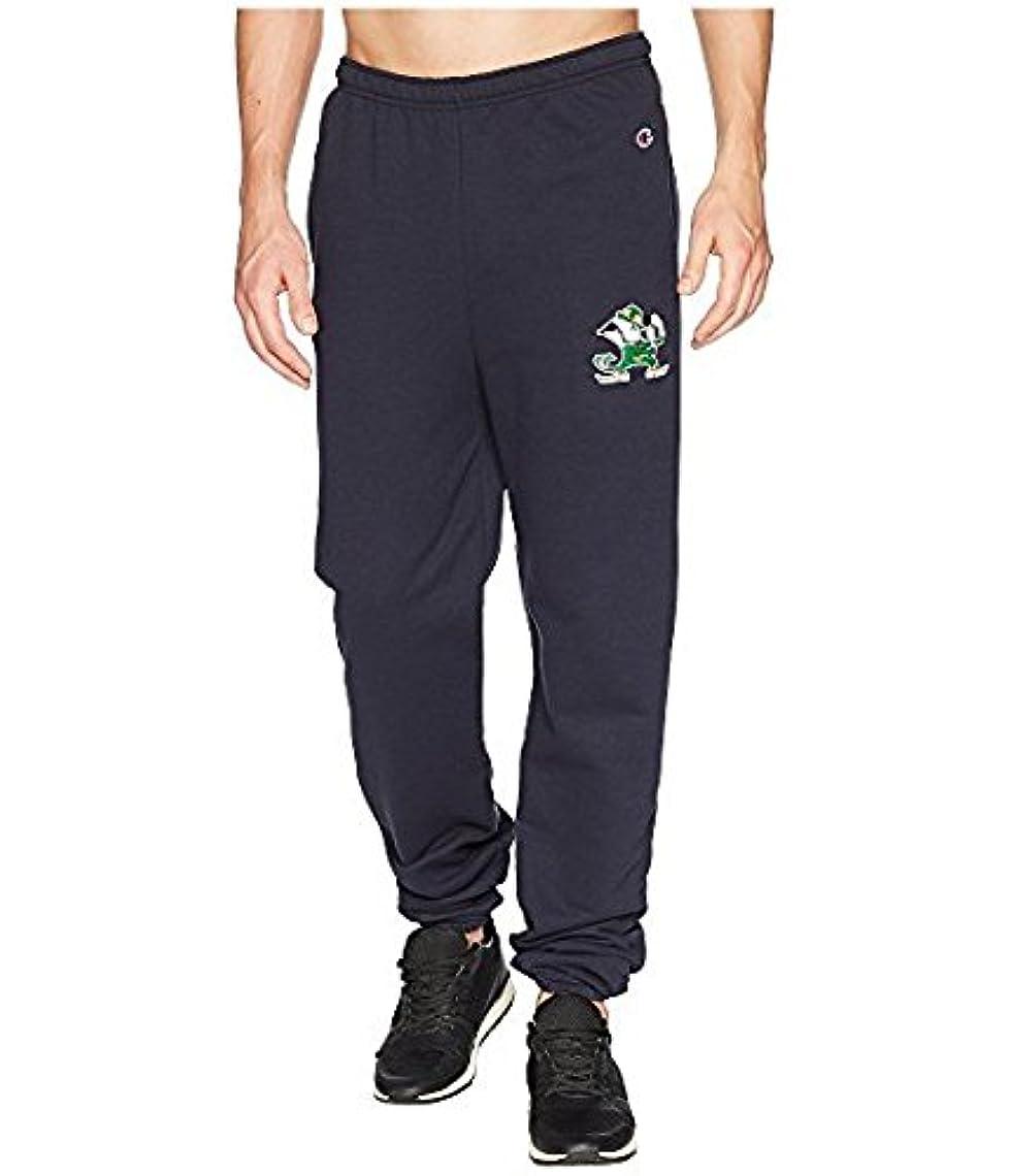着るスロット真空チャンピオンカレッジ Champion College メンズ パンツ Navy Notre Dame Fighting Irish Eco Powerblend Banded Pants [並行輸入品]