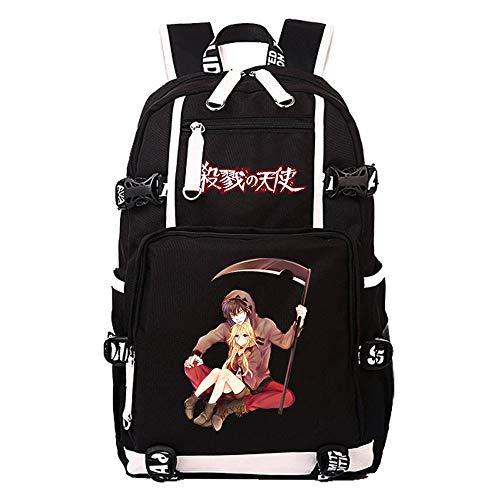 Anime Angels of Death Backpack Cosplay Rucksack Laptop Bag Mochila Knapsack (7)