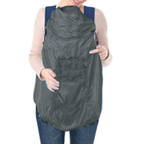 Neonato Cover Fascia Antivento Universale Impermeabile Copertura Antipioggia Mantello per Bambino,con tasche calde,con Cappuccio