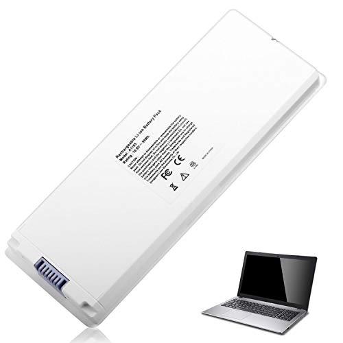 A1185 Battery for Apple MacBook 13' A1181 X451 MA566 MA561 MA254 MB402 Ma254b/a Mb062x/a, Color White