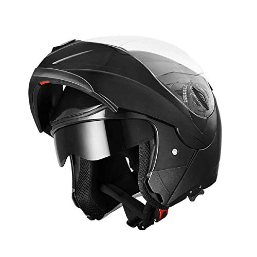RAON Motorcycle collision modular helmet ECE certification full face racing motorcycle helmet with anti-fog mirror adult men and women M,L,XL