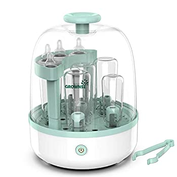 Bottle Sterili-zer Bottle Cleaner for Baby Bottles Pacifiers Breast Pumps Large Capacity and 99.99% Cleaned in 8 Mins