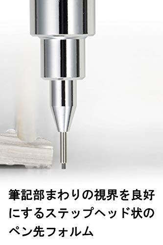 Pentel mechanical pencil GRAPH1000 0.5mm Black (japan import) Photo #5