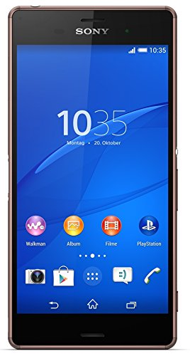 Sony Xperia Z3 Smartphone (13,2 (5,2 Zoll) Touch-Display, 16 GB Speicher, Android 4.4) kupfer