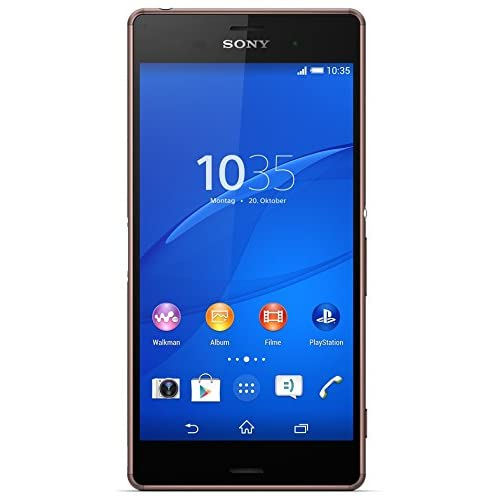 Sony Xperia Z3 Smartphone, Display 5,2 Pollici, Full-HD-TRILUMINOS-Display, 2,5 GHz-Quad-Core-Processore, 20,7 MP Fotocamera, Android 4.4, Rame [Germania]