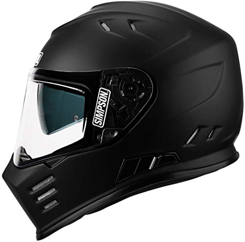 Simpsons Helmet Venom 60-L, Matt Schwarz, Größe L